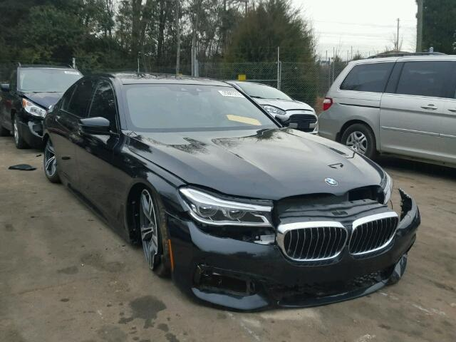 Salvage Bmw Series Cars For Sale And Auction - 2012 bmw 745